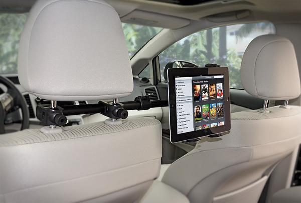 Arkon Center Extension Car Headrest Tablet Mount Review