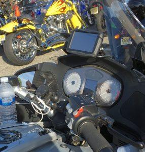 Garmin Zumo 590LM on BMW Motorcycle 286x300 garmin zumo 595lm motorcycle mounts garmin motorcycle wiring harness at edmiracle.co